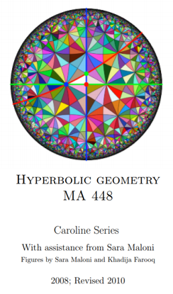 Caroline Series – Hyperbolic Geometry, Perspective and Time